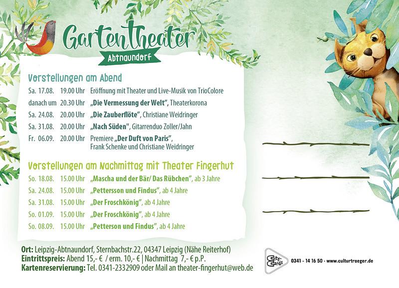 Gartentheater Abtnaundorf
